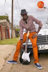 Photo: K-Denk, the renowned South Sudanese Hip Hop artist